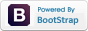 Powered by Bootstrap